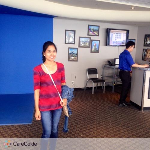 Child Care Job Hydie Tolentino's Profile Picture
