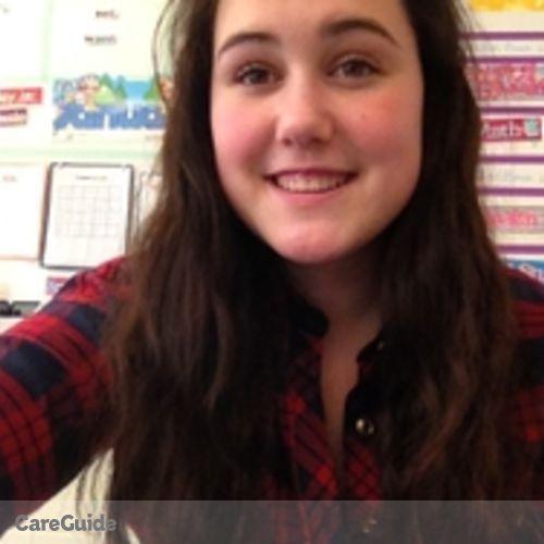 Canadian Nanny Provider Abigail Brown's Profile Picture