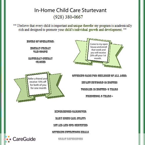 Child Care Provider Jenni Thompson's Profile Picture