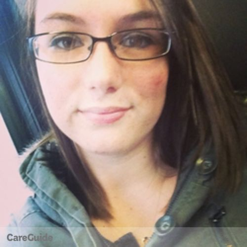 Canadian Nanny Provider Sarah Holmes's Profile Picture