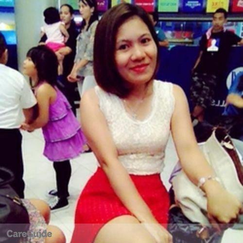 Canadian Nanny Provider Elisa Manaloto's Profile Picture