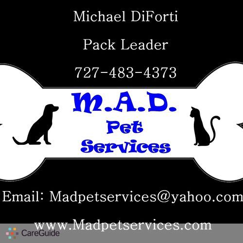 Pet Care Provider Michael DiForti's Profile Picture