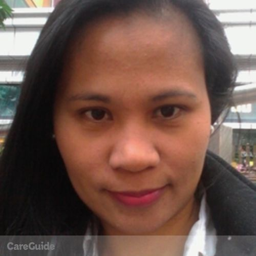 Canadian Nanny Provider Neriza C's Profile Picture