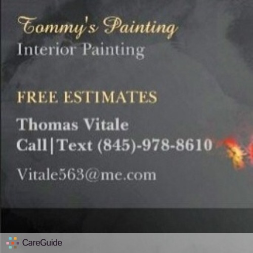 Painter Provider Thomas V's Profile Picture