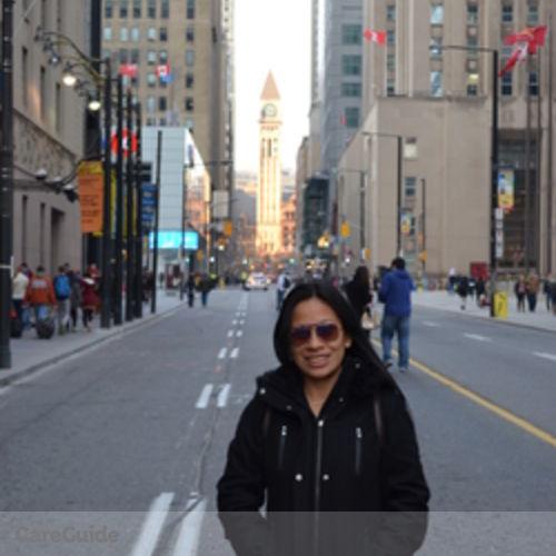 Canadian Nanny Provider Glenda Cilot's Profile Picture