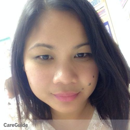 Canadian Nanny Provider Arlene Quiros's Profile Picture