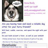 Dog Walker, Pet Sitter in Missoula