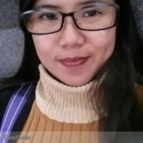 Canadian Nanny Provider Katherine Tiangco's Profile Picture
