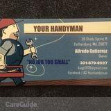 Handyman in Gaithersburg