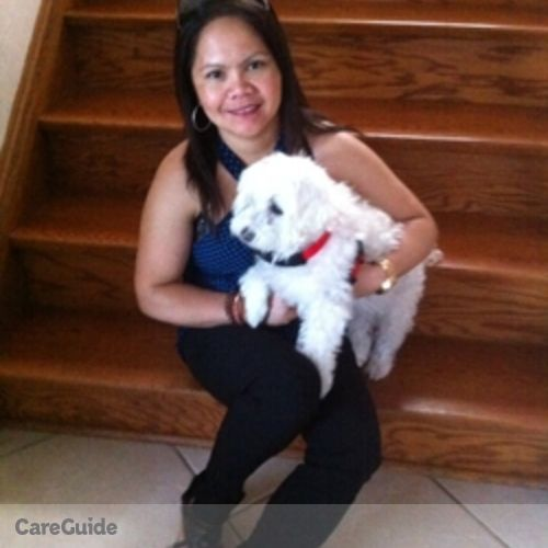 Canadian Nanny Provider Arlene canillo Gingging's Profile Picture