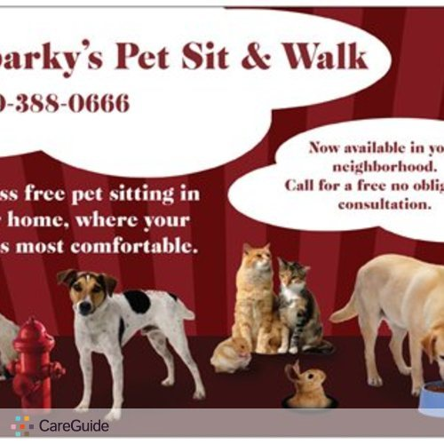 Pet Care Provider Sparky's Pet Sit and Walk's Profile Picture
