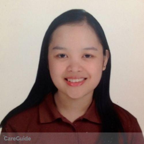Canadian Nanny Provider Jillian Marie Cablao's Profile Picture