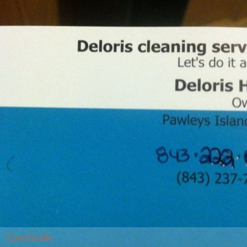 Housekeeper Provider Deloris Hall or Cynthia Hall-White's Profile Picture