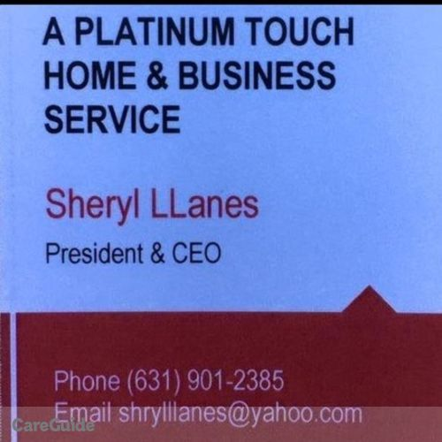 Housekeeper Provider Sheryl Llanes's Profile Picture