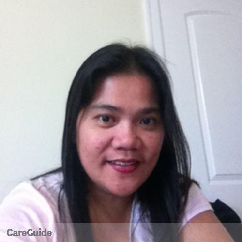 Canadian Nanny Provider Marie Lagasca's Profile Picture