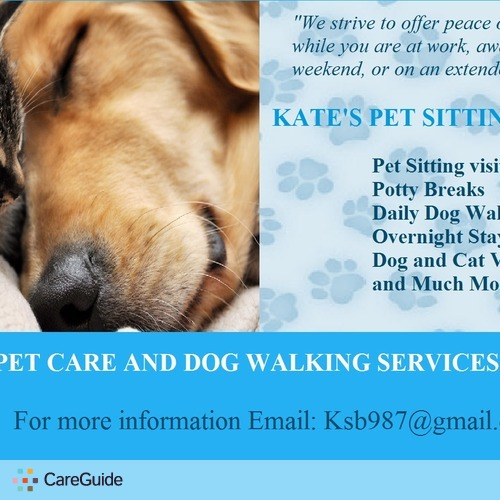 Pet Care Provider Katlyn B's Profile Picture