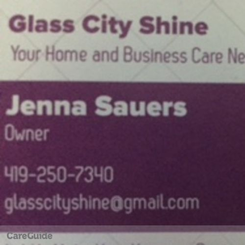 Housekeeper Provider Jenna Sauers's Profile Picture