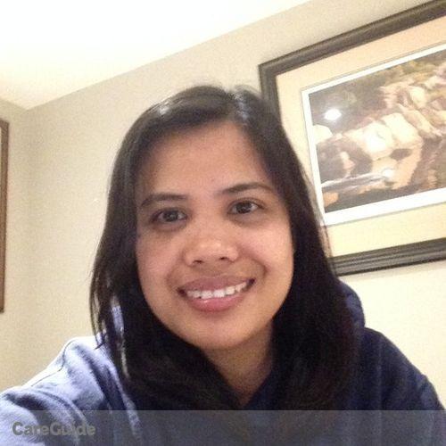 Canadian Nanny Provider Marie grace Mortera's Profile Picture
