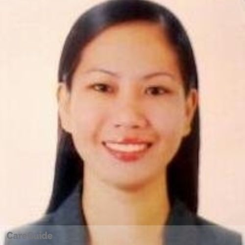 Canadian Nanny Provider Maribel Traquena's Profile Picture