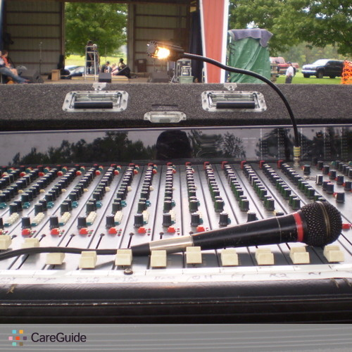 Analog sound engineer/company available for your next REAL event