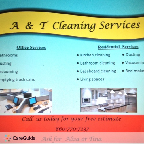 Housekeeper Provider A & T Cleaning's Profile Picture