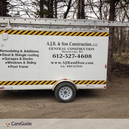 Carpenter Job Aaron B's Profile Picture