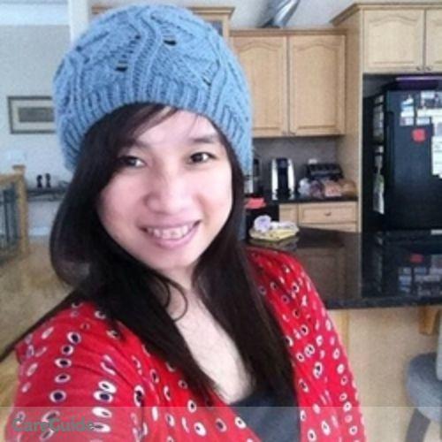 Canadian Nanny Provider Clarisa Aquino's Profile Picture