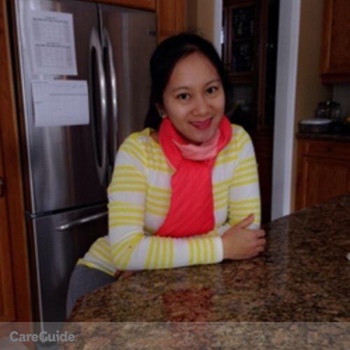 Canadian Nanny Provider Hazelene Corpuz's Profile Picture