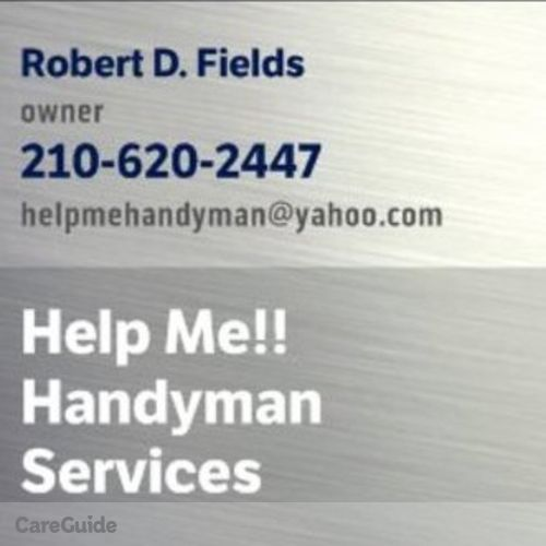 Handyman Provider Robert Fields's Profile Picture