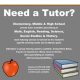 Affordable Private Tutoring!