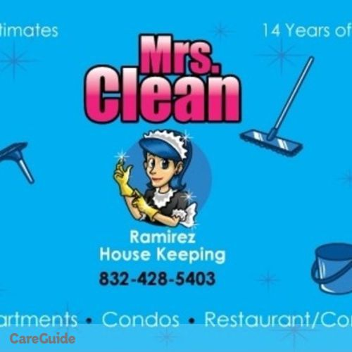 Housekeeper Provider Rosa Ramirez's Profile Picture