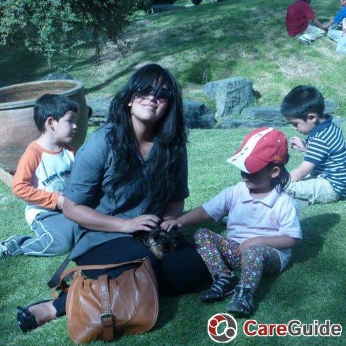 Child Care Job Carolina Escobar's Profile Picture