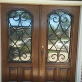 Candj front door refinishing services