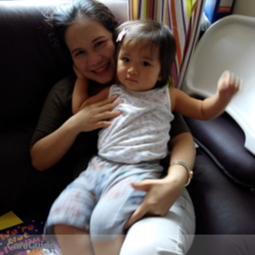 Canadian Nanny Provider Maligat Victoria's Profile Picture