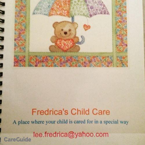 Child Care Provider Fredrica Lee's Profile Picture