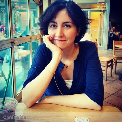 Canadian Nanny Provider Sulmas Youssefi's Profile Picture