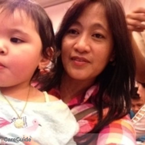 Canadian Nanny Provider Maria Teresa U's Profile Picture