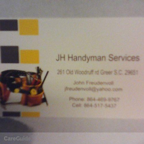 Handyman Provider John Freudenvoll's Profile Picture