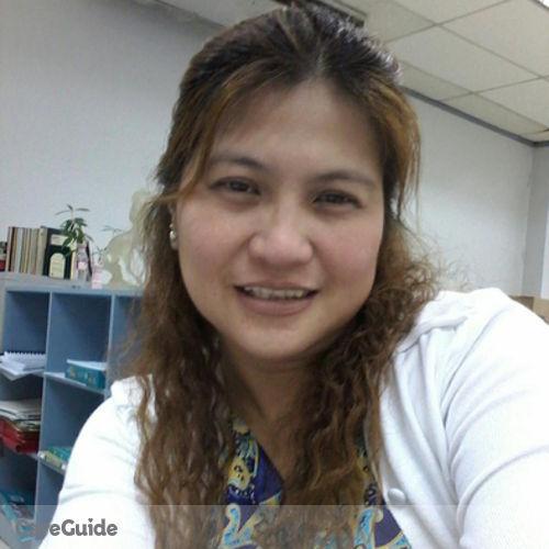 Canadian Nanny Provider Maria Shiela Matibag's Profile Picture