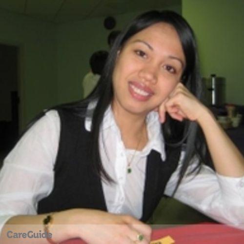 Canadian Nanny Provider Rhea Mae J's Profile Picture