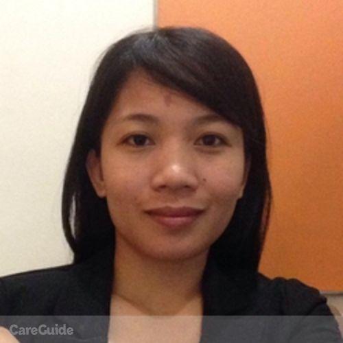 Canadian Nanny Provider Mylene Requimin's Profile Picture