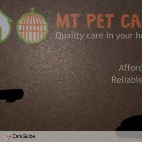 Pet Care Provider Marissa Feiler's Profile Picture
