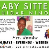 Babysitter, Family Home Childcare Evenings & Weekends.