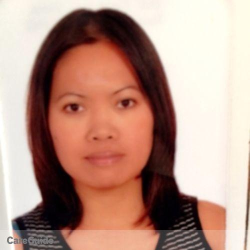Canadian Nanny Provider Bernadeth A's Profile Picture
