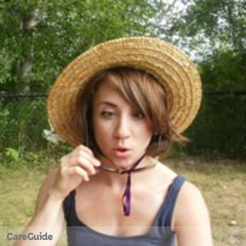 Canadian Nanny Provider Sarah Wilson's Profile Picture