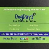 DogDays will treat your dogs and cats like their own!
