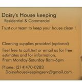 Daisy's housekeeping Services
