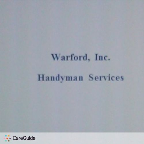 Handyman Provider Rusty Warford's Profile Picture