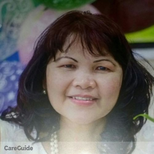 Canadian Nanny Provider Patricia Lawingco's Profile Picture