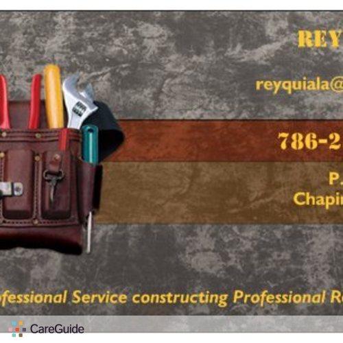 Handyman Provider Rey Quiala's Profile Picture